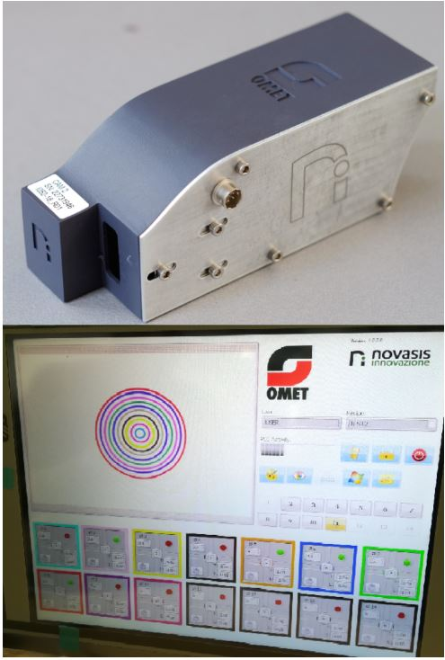 Sistema di visione OEM per macchine di stampa vision system for printing machines, OMET MULTIVISION