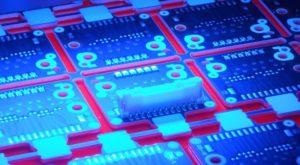 misura posizione LED su PCB